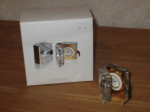 SWAROVSKI-MEMORIES-NEW-Livre-Pendulette-Book-Clock-235900