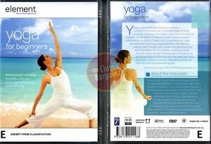 YOGA-FOR-BEGINNERS-Element-Mind-amp-Body-Experience-DVD-Region-4-Australia
