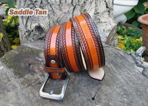 mens western belt Leather Belt cowboy belt western belt tooled leather belts