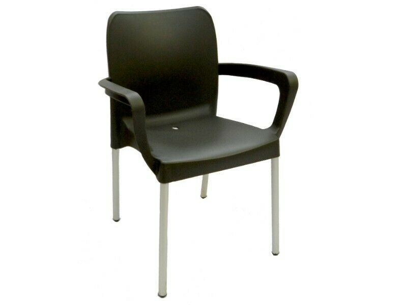 Cafe Chair With Arms- Heavy Duty ( Available in different Colours)
