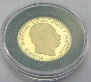 10-Mark-Goldmuenze-Wilhelm-Deutscher-Kaiser-Koenig-v-Preussen-Deutsches-Reich-Gold
