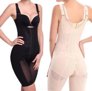 32fcf7fec75358 Details zu Damen Slim Body Shaper Mieder-bodys Bodysuit Waist Trainer  Taillengürtel Korsett