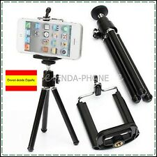 Universal Movil Soporte Bracket Tripode Negro para iPhone 5 - 6 Plus 5.5 / 4.7