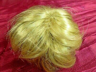 Blonde Käthe Kruse Puppe Kurzhaar Perücke