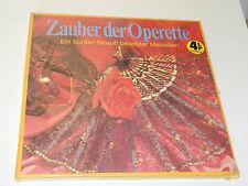 vintage SEALED 4 LP BOX Zauber Der Operette SUPPE Offenbach STRAUSS Lehar STOLZ