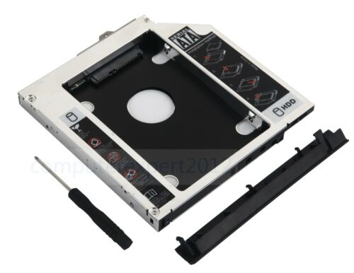 Faceplate Bracket 2nd HDD SSD Caddy for HP EliteBook 8560w 8570w 8760w 8770w