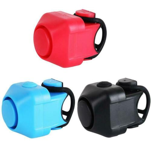 Bicycle Bell Electronic Horn Waterproof Loud Sound Safety Alarm for Kid s Adults