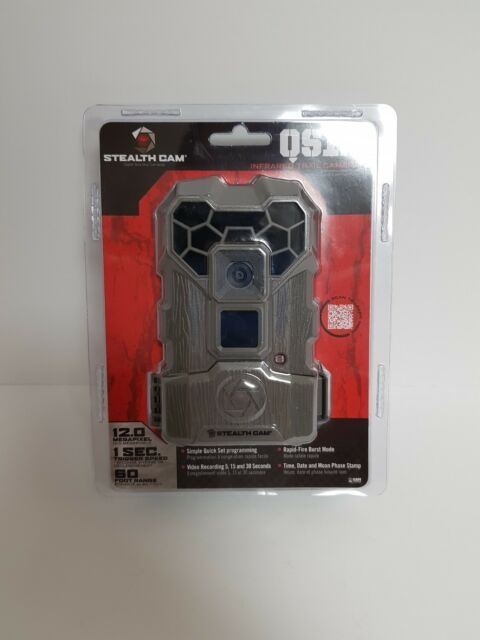 STEALTH CAM QS12 NO GLO INFARED TRAIL GAME CAMERA 12 MP 60FT RANGE