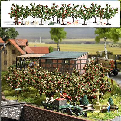 Leale Busch 6620 Spur H0 Apfelplantage # Nuovo In Confezione