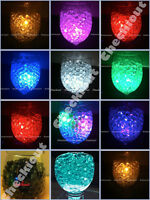 Water Bead Pearl + Led Decor Submersible Light Wedding Floral Eiffel Tower Vase