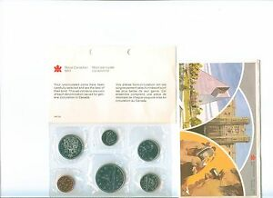1981 - Pl Set - Canada RCM Proof Like Mint With COA and Envelope