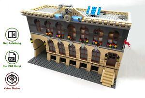 LEGO-Fabrik-modular-MOC-Bauanleitung-Instructions-keine-Steine-no-bricks