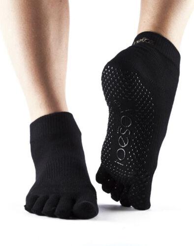 ToeSox Full Toe Ankle Non Slip Grip Workout Dance Yoga Pilates Socks