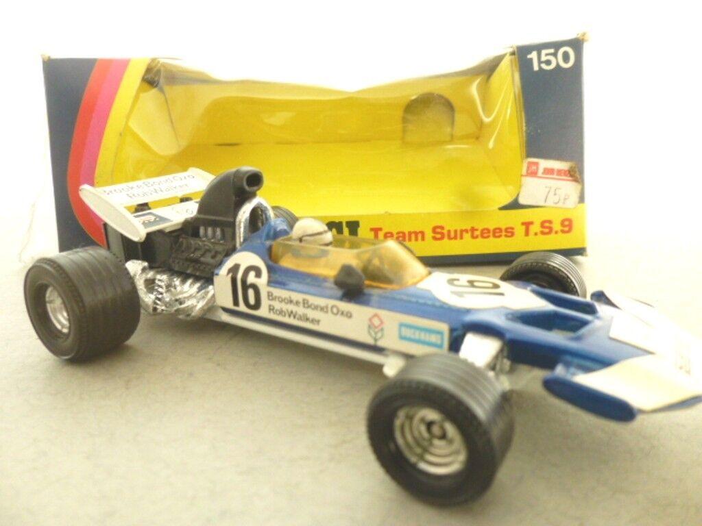 Corgi Toys Team Surtees TS 9B F1 Racing Car - Corgi Toys Model Racing Cars