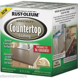 Giani Countertop Paint Vs Rustoleum : ... Pack RustOleum Deep Base Satin Laminate Countertop Coating Kit 254853