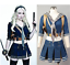 Sucker Punch Baby Doll Cosplay Costume Outfit Jacket+Skirt+Belt+Scarf+Holder Set