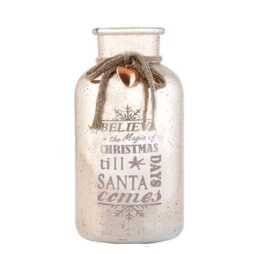 Vintage Flasche Ø 10x20 cm Deko Vase Clayre /& Eef 6GL1716 NEU!