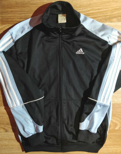563daadbb26b de chándal Chaqueta pálido cielo azul Adidas hombre Vintage Negro para 90 s  qAdwCdWn5