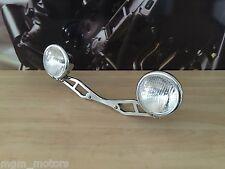 Staffa con fari  spotlight Honda Shadow VT1100 dual headlight SC32