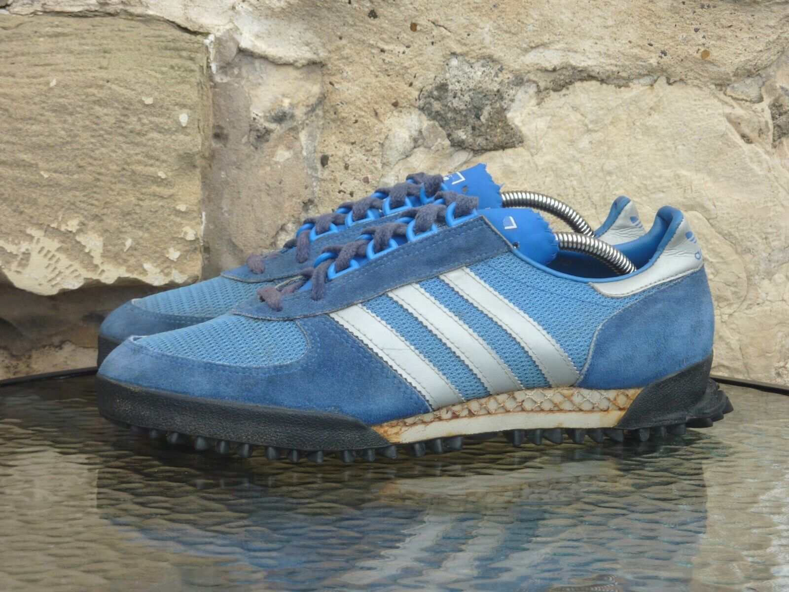 Vintage Adidas Marathon TR UK 10 Made In Yugoslavia OG competition zx600 84 500