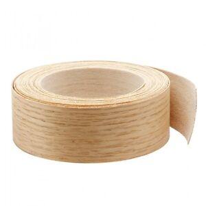 Details About Wood Veneer Edgebanding Edge Tape Pre Glued 2 X 25 Red Oak