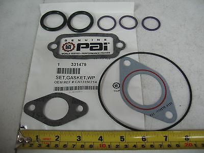 Caterpillar C10 C12 Water Pump Gasket Set PAI P/N 331479 Ref.# 3156714, 315-6714