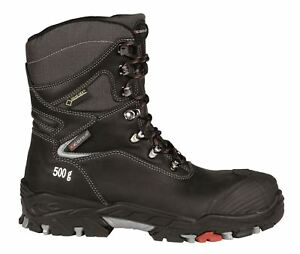 Cofra Mjosa S3 WR SRC Black Gore Tex Warm Leather Safety Lace High ... aa8bce5bae1