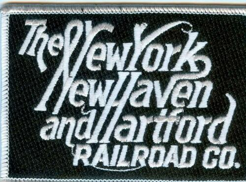 """New York New Haven  and Hartford 4/"""" X 2 3//4 /"""" Details about  /RAILROAD PATCH"""