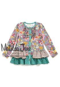 NWT MATILDA JANE Once upon time Motif legging Ruffles  sz 2 4 Girls