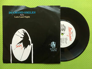 The-Boomtown-Rats-Diamond-Smiles-Mulligan-Irish-Press-LUNS-733-Ex-Condition