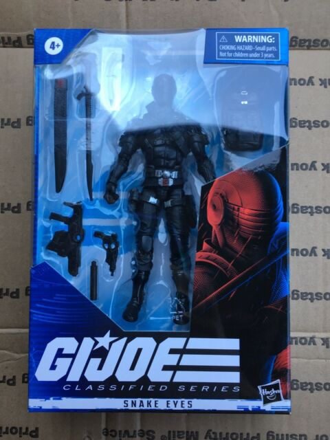 "Hasbro GI Joe Classified Series Snake Eyes 6"" Action Figure New"