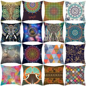 Am-Mandala-Flower-Pattern-Throw-Pillow-Case-Cushion-Cover-Room-Office-Sofa-Deco