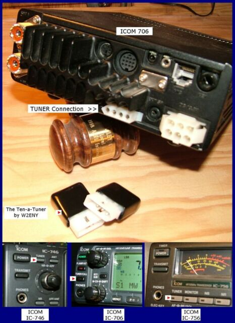 10w Tuner Module Modified for ICOM Ic-7300 W2eny