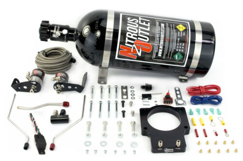 Nitrous Outlet 92mm Fast Intake 98-02 F-body Plate System 10lb Bottle