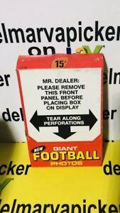 1980-Topps-GIANT-FOOTBALL-PHOTOS-Unopened-Box