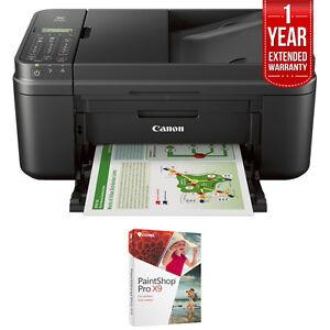 Canon-WiFi-All-In-One-MX492-Printer-Scanner-Copier-Fax-Paint-Shop-Pro-X9-Bundle