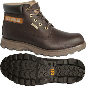 Details about Caterpillar Boots Mens CAT Brown Founder Waterproof Leather Boot p719246