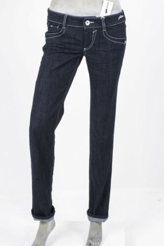 JEANS GAS DONNA DARLINE DENIM STRETCH LAVAGGIO 301 BLU SCURO REGULAR FIT
