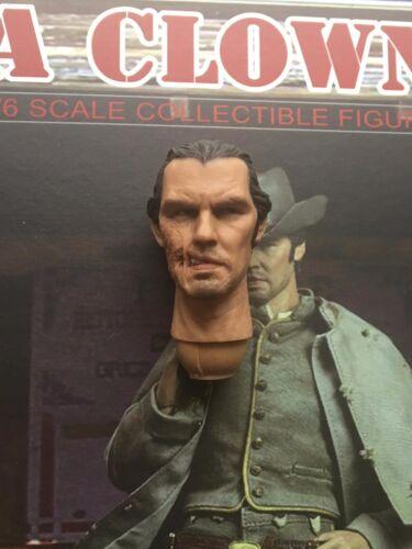"BBK Cowboy Jonah Hex Josh Brolin 12/"" Head Sculpt loose 1//6th scale"