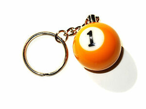 Quality-1-Ball-Pool-Keyring-SALE-WAS-4-95