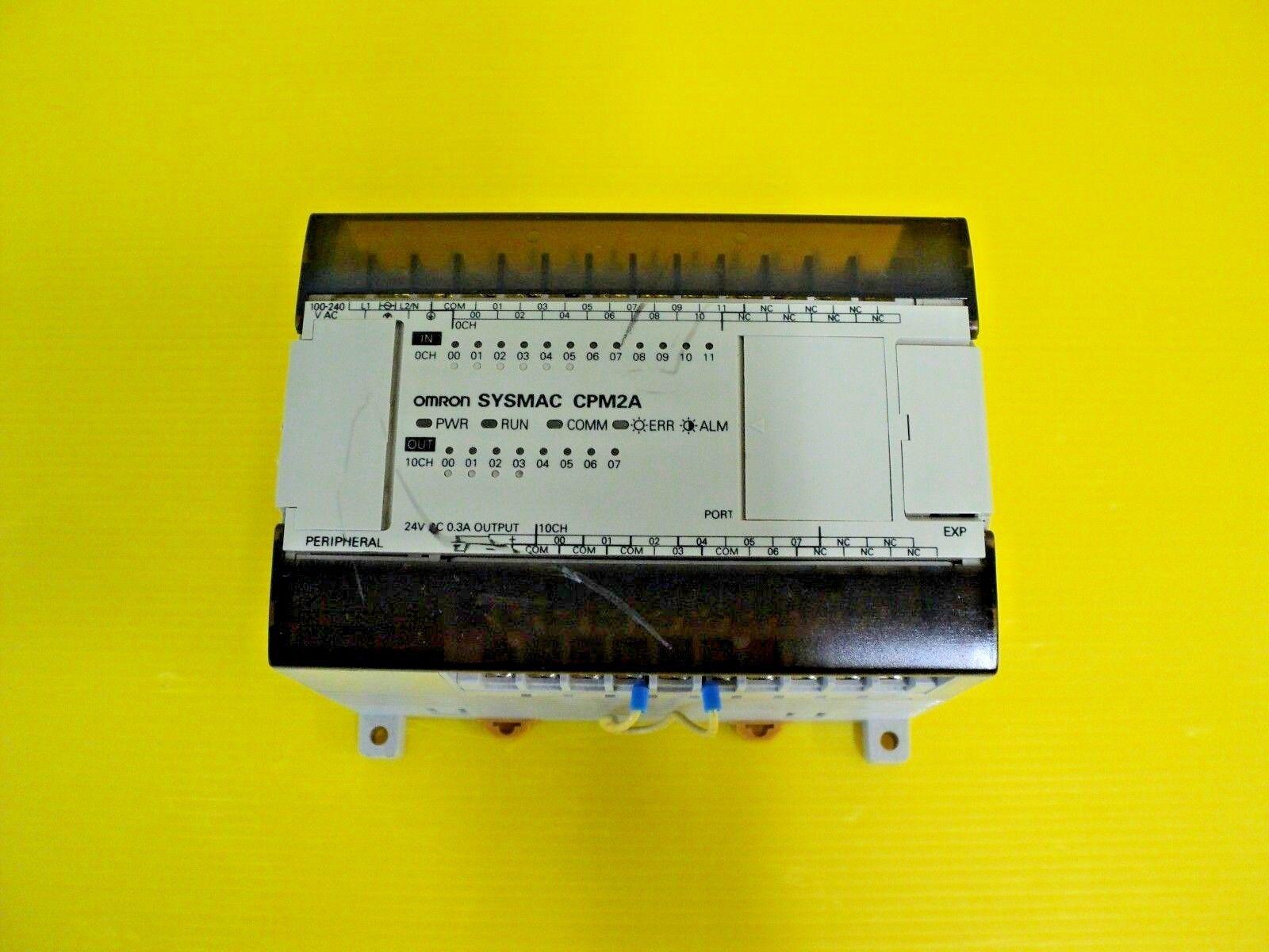 Omron CPU Unit CPM2A-20CDR-A CPM2A20CDRA