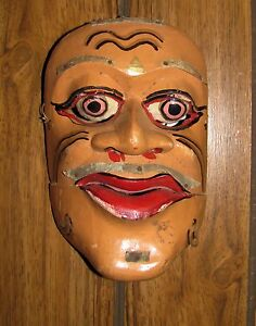 Vintage-Balinese-Ceremonial-Mask-with-Movable-Jaw