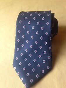 "Christian Dior All Silk Neck tie 3 1/2"", Black, Classic (57in.-60in.)"