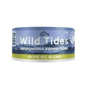 Wild Tides Fished Tuna Olive Oil Blend 95g