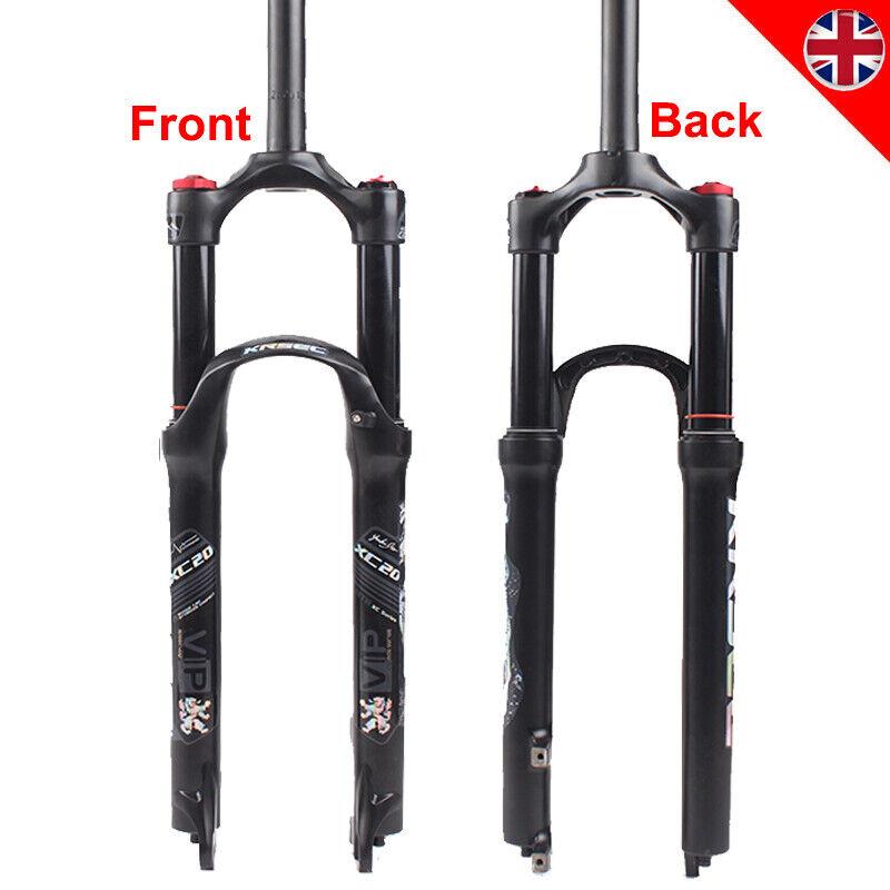 Bicicleta Mtb 26 27.5 29  Tenedor Suspensión de choque de aire 120mm 1-1 8  Horquillas Bici de viaje