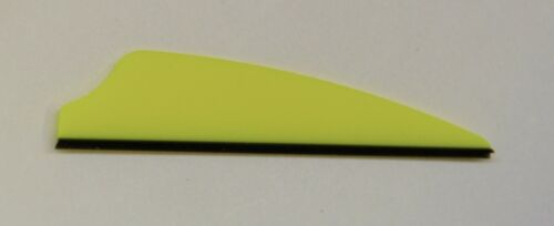 """2.1/"""" Fusion-X Vanes For Cross Bows and Compond Bows //Yellow 50ct"""