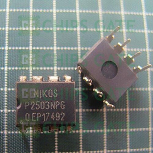 9PCS P2503NPG ORIGINAL NIKOS DIP-8