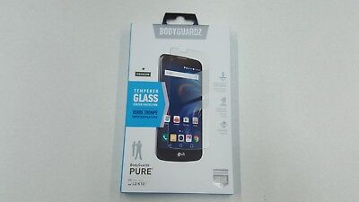 Lot of Bodyguardz Pure LG K10 New Tempered Glass Screen Protector x3 x5 x10