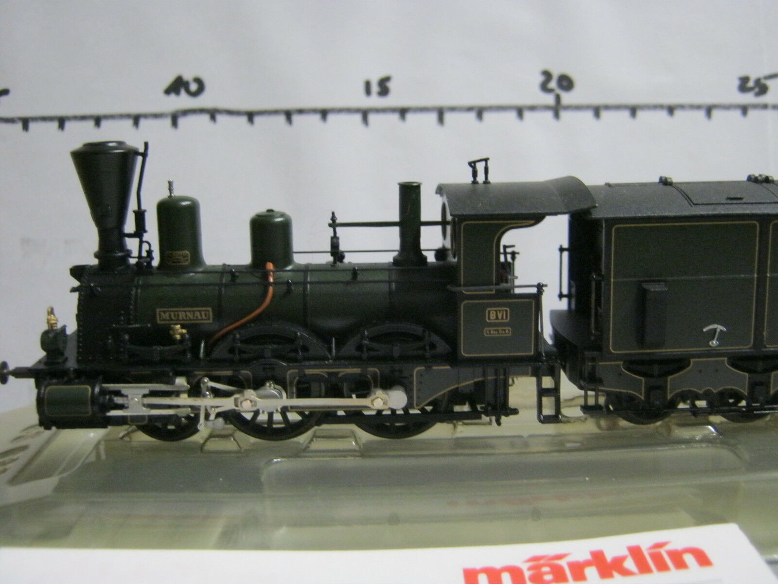 Digital   HO 3797 locomotiva a vapore BR B vi Murnau kbaysts  rg/re/012-155s7/2