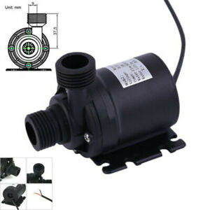 Pumps (water) 12v Ultra-quiet Small Submersible Water Pump For Fountain Fish Aquarium Traveling